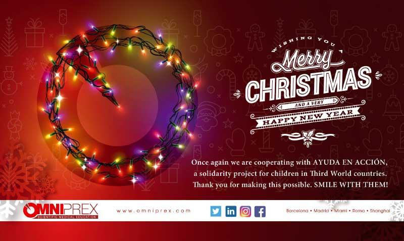 Omniprex les desea Feliz Navidad...