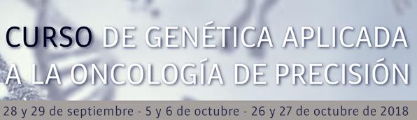 Curso de genética aplicada a la oncología de precisión...