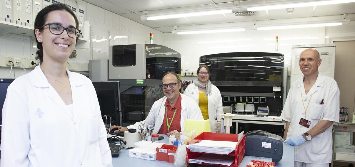 Bellvitge crea el primer Banco de muestras de heces congeladas de España para trasplante fecal...