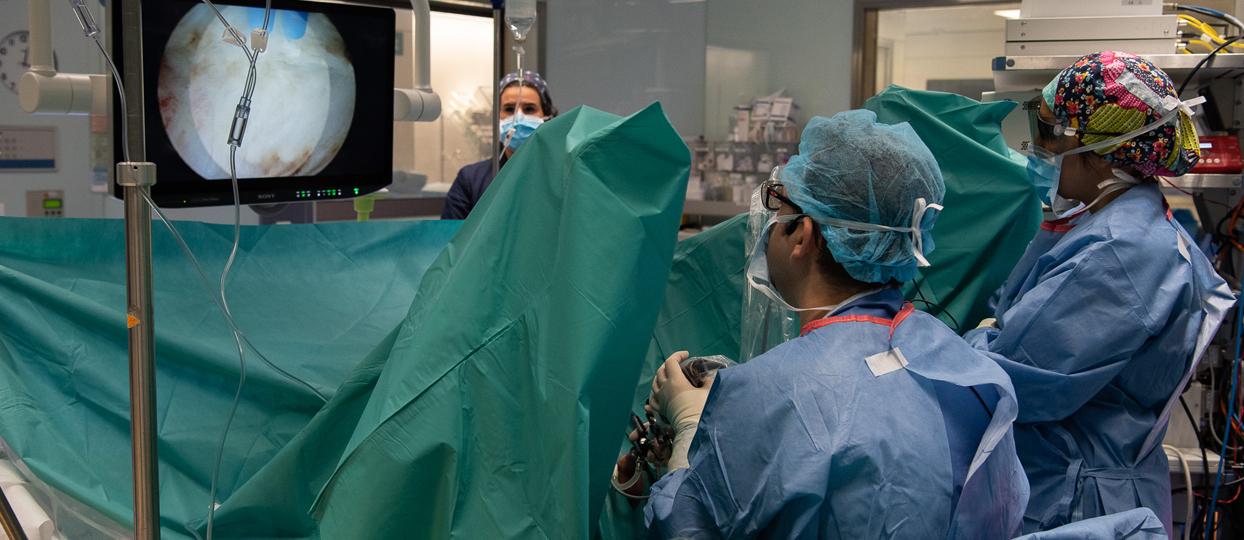El Clínic prueba la endoscopia en 3D en próstata...