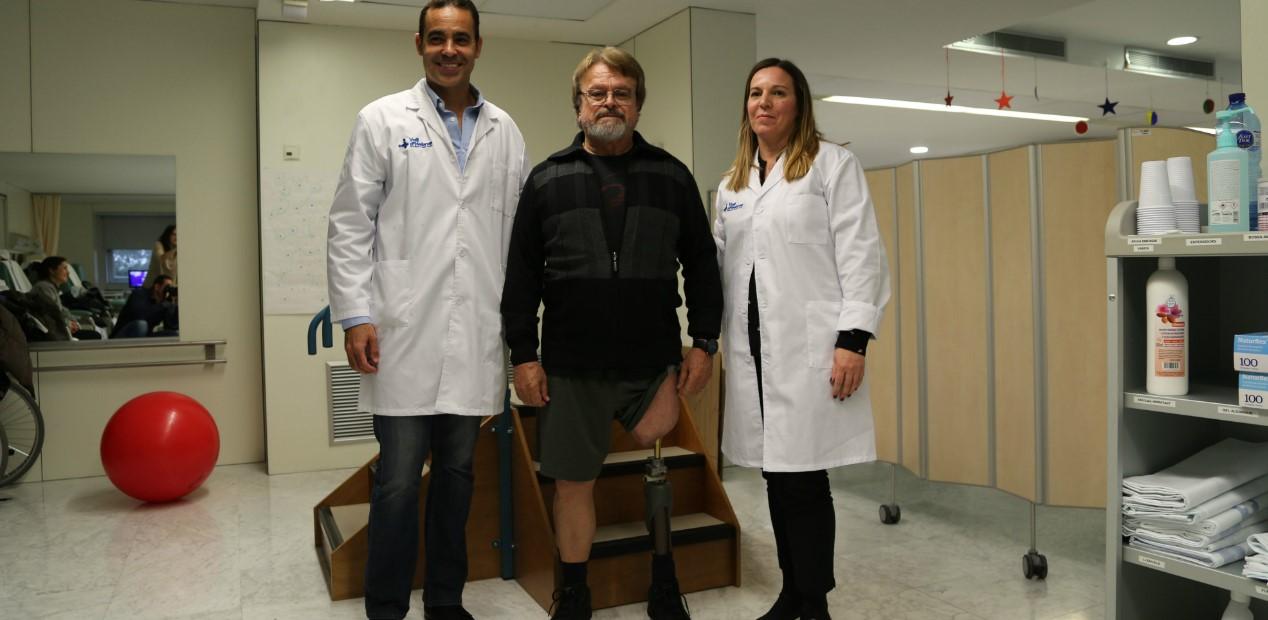 Avanza la cirugía de prótesis osteointegrada en amputados femorales...
