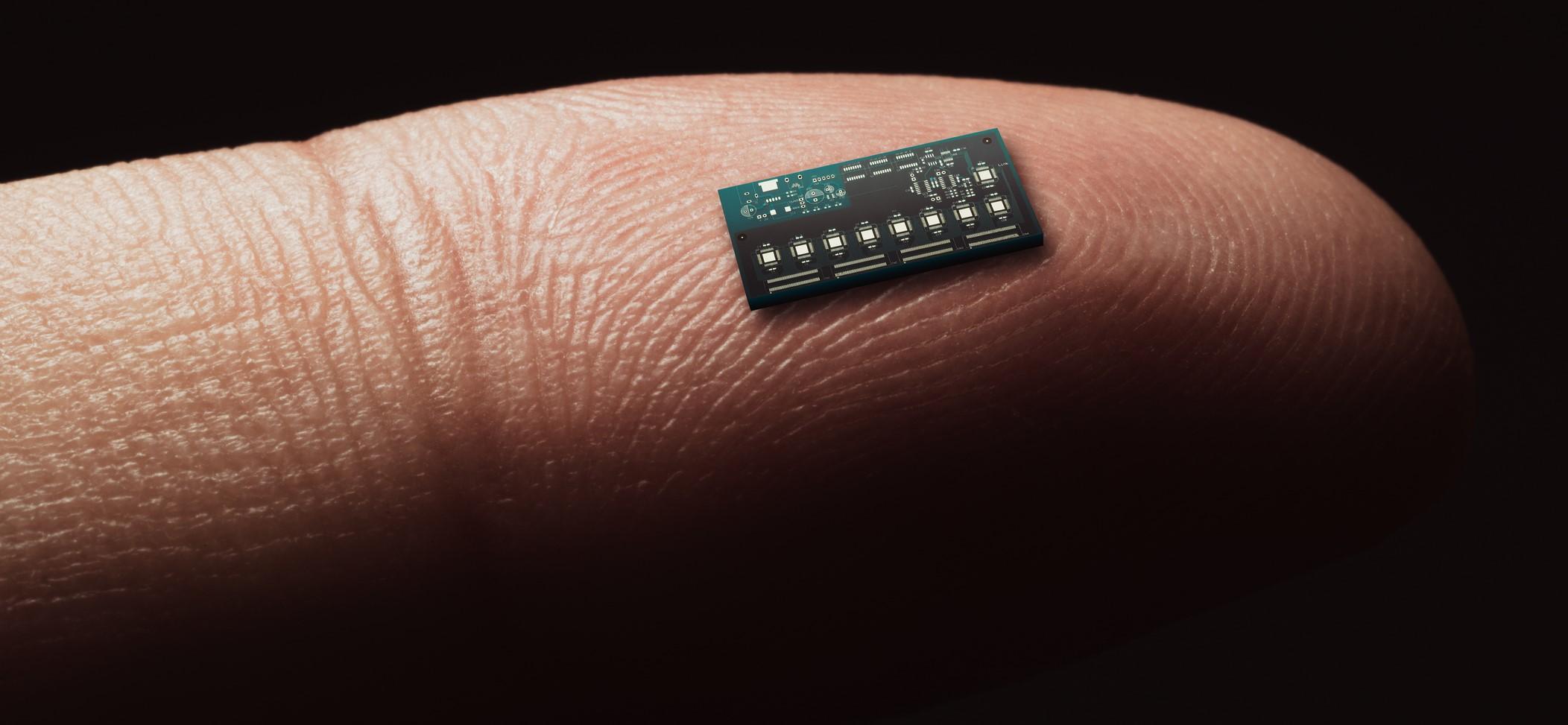 El primer microchip funcional para dispositivos implantables en el cuerpo humano...