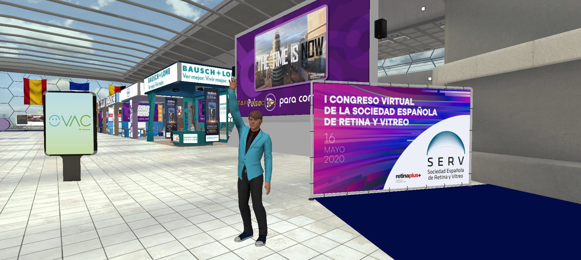 The first virtual medical congress to feature avatars...