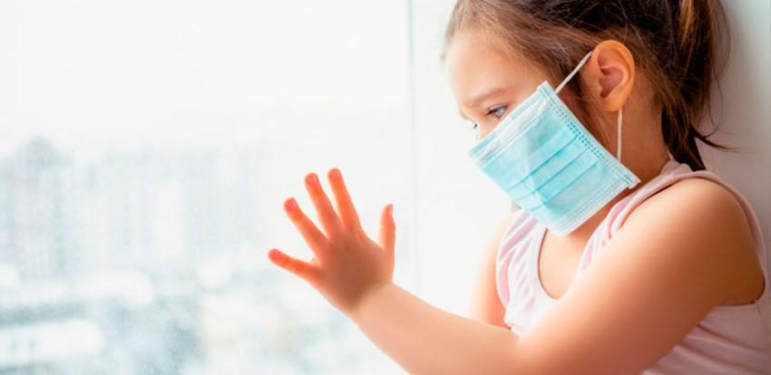 Los niños pueden diseminar el coronavirus hasta tres semanas después del diagnóstico...