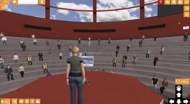 Cómo interactuar en el mundo virtual de OVAC by Omniprex...