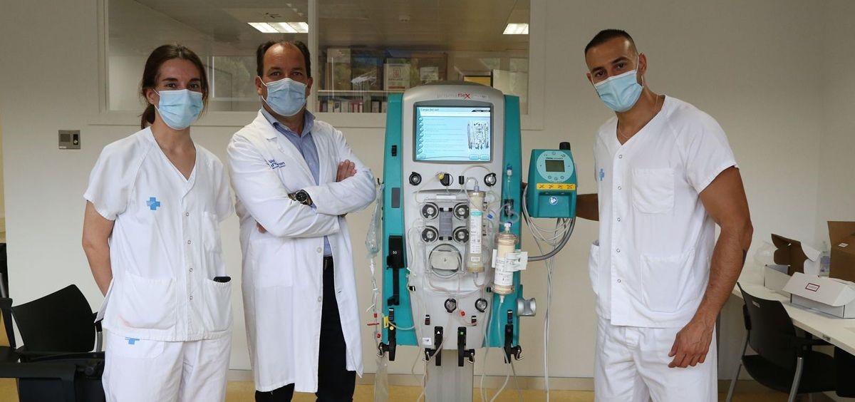 Vall d'Hebron, primer centro en probar un sistema para filtrar sangre y mejorar la evolución Covi...